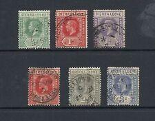 Single George V (1910-1936) Sierra Leone Stamps (1808-1961)