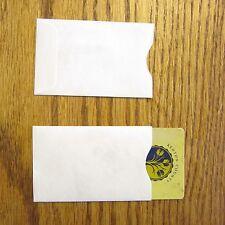 10 TYVEK CREDIT DEBIT CARD PROTECTOR HOLDER SLEEVE ENVELOPES ATM ID GIFT CARD