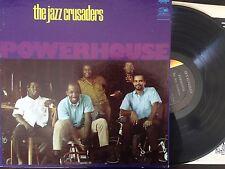 JAZZ CRUSADERS Powerhouse LP Vinyl Side 1 VG, Side 2 VG++ Cover VG+ GF