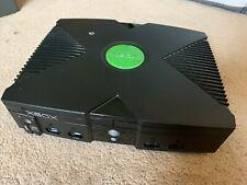 Original Microsoft Xbox Xecuter X3 Mod Chip Installed 150GB Controller