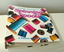 spinning spools club quilter book 34 patterns oxmoor house 1989 loose leaf
