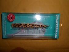 Tweezerman Leopard Slant Tweezer 1256-Lr