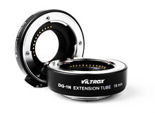 Macro Extension Tube 10mm+16mm Adapter Set Viltrox DG-1N f Nikon1 Lens J1 J2 V1