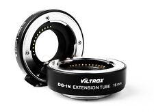 Macro Extension Tube 10mm+16mm Adapter Set Viltrox DG-1N f Nikon1 Lens J1 J2 V1