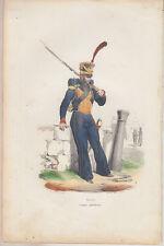 C1 MER Napoleon GRAVURE COULEURS BELLANGE 1850 Marins GARDE IMPERIALE