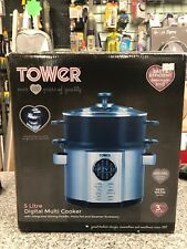 Tower T16006 Digital 5L Multi-Cooker with Stirring Paddle