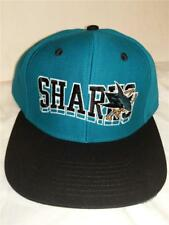 New San Jose Sharks Mens Size OSFA Snapback Throwback Reebok Vintage Hat