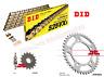 Honda CBR600 F / FA 2011 - 2012 - 2013 DID Gold XRing Chain and JT Sprocket Kit