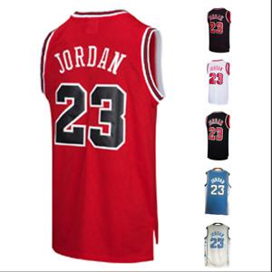 Throwback Legend Mens Jordan #23 Chicago Basketball Jersey Retro Jersey Stitched