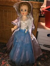 New listing All Original American Character 1950s Doll, Dressed In Beautiful Gown & Accs