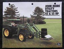 1984 JOHN DEERE 2150 & 2350 TRACTOR BROCHURE CATALOG VERY CLEAN