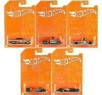Hot Wheels Orange And Blue EMC Exclusive 53th Anniversary lot de 5 (Cart)
