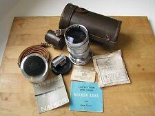 """Nikon 135mm f/3.5 Nikkor Q C 13.5cm Lens Nikon Rangefinder """"C"""" Mount for Contax"""