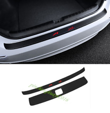 Carbon Fiber Rear Bumper Guard Sill Protector Plate For Honda Accord 2018 2019
