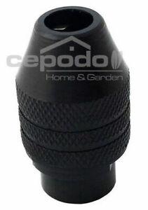 Schnellspann Bohrfutter Spannzange 0,8-3,2mm passend für Dremel Geräte