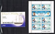 Seychelles & Zil Elwannyen Sesel, Royal Wedding 1981, Charles & Diana, 3 scans