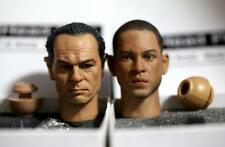 Custom 1/6  Will Smith & Tommy Lee 2 PCS head sculp set Men in Black Agent