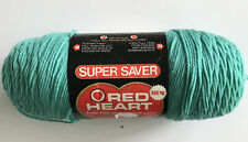 Red Heart Super Saver Yarn-Mint Green. NEW.   366