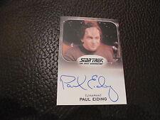 2014 Star Trek Aliens - Paul Eiding as Ambassador Loquel Autograph Card