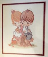 Sealed Vtg Love One Another Precious Moments Counted Cross Stitch Kit 1994 AS IS