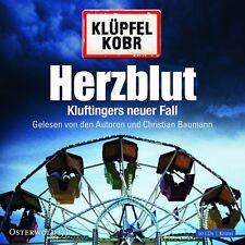 VOLKER KLÜPFEL/MICHAEL KOBR - HERZBLUT-KLUFTINGERS NEUER FALL 10 CD HÖRBUCH NEU
