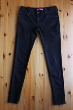Womens Skinny Jeans with zip LEVIS 831 - Black Size 9