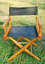 Vintage Directors Chair  **FREE SHIPPING**  Folding Telescope Canvas