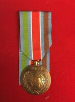"Fullsize UN Bosnia UNPROFOR Medal With 10"" Ribbon Superb Copy"