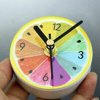 Unique n Pattern Kitchen Refrigerator Fridge Magnet Portable Wall Clock AraG6X2
