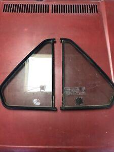 Vw Mk1 Rabbit Jetta 4 Door Rear Quarter Window Glass And Seal Pair