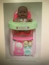 Jc Toys, Lots to Love Babies 14 inches Baby Doll w/High Chair & Accessories