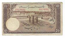 Pakistan - Ten (10) Rupees, 1957