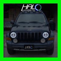 2002-2007 ORACLE LIGHTING Jeep Liberty White Plasma Headlight Halo Ring Kit