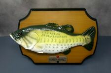Rare Gemmy Big Mouth Billy Bass Animated Singing Fish 1999 Working See Video