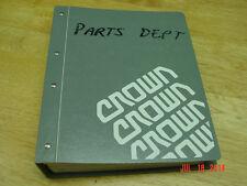 CROWN PE 3000 series Electric Walkie   Master  Service / Parts OEM Manual LQQK!
