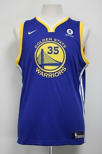 Golden State Warriors Nike Youth Kevin Durant #35 Authentic On Court Icon Jersey