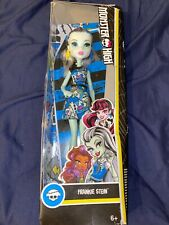 Monster High Doll - FRANKIE STEIN New Boxed Blue Doll
