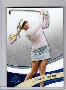 2014 UD SP Authentic Natalie Gulbis - Retail Sapphire Blue - Card #15