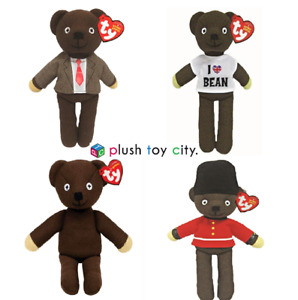 TY MR BEAN TEDDY SOFT TOY - 4 TO CHOOSE FROM - 10 INCHES 26CM  GENUINE TY