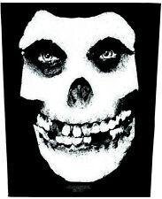 MISFITS - Rückenaufnäher skull Backpatch 30x37 neu