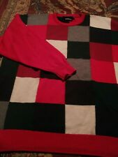 PRINGLE Men's Crewneck 100% LAMBSWOOL Medium LS Sweater MADE IN SCOTLAND