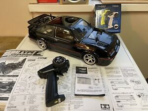 Tamiya TT01E Ford Sierra RS500 RWD only  Brand New Shelf Queen Complete and RTR