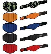 "Weight Lifting Belt 8"" Wide for Lower Back Support. Workout Belt for Men & Women"