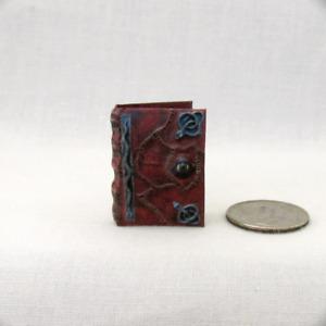 HOCUS POCUS BOOK OF SPELLS Miniature Book Dollhouse 1:12 Scale Readable Book