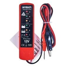 BATTERY & ALTERNATOR TESTER 6 LED TEST CAR VAN 12 V DIAGNOSTIC CARAVAN TOOL NEW