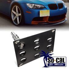 FOR BMW 328i 528i E39 E46 E90 X5 X6 BUMPER TOW HOOK LICENSE PLATE MOUNT BRACKET