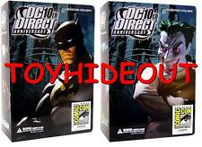 DC DIRECT 10TH ANNIVERSARY 2008 SDCC BATMAN & JOKER ACTION FIGURE NEW GRAPHITTI
