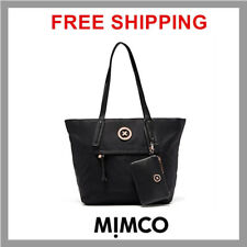 Mimco Splendiosa Tote Hand Bag, Large - Black Rose Gold