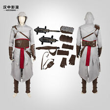 HZYM New Altair Ibn-La'Ahad Cosplay Costume Full Suit Any Size Customize