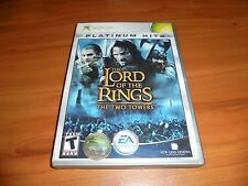 Lord of the Rings: The Return of the King (Microsoft Xbox, 2003) Used Complete